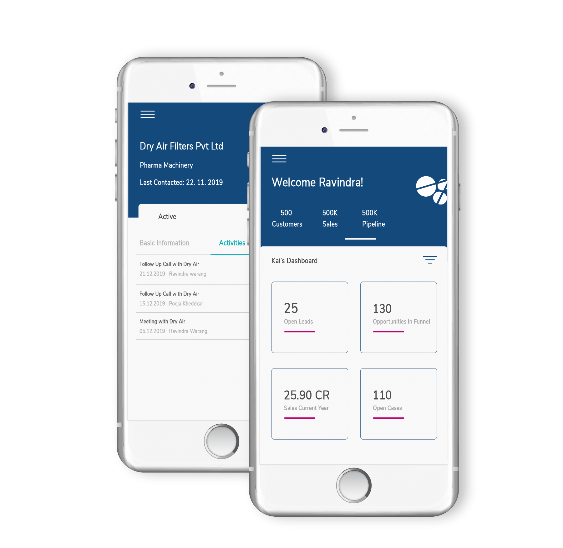 Cloud-based mobile CRM for consulting industry